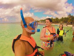 Snorkeling in Akumal 1