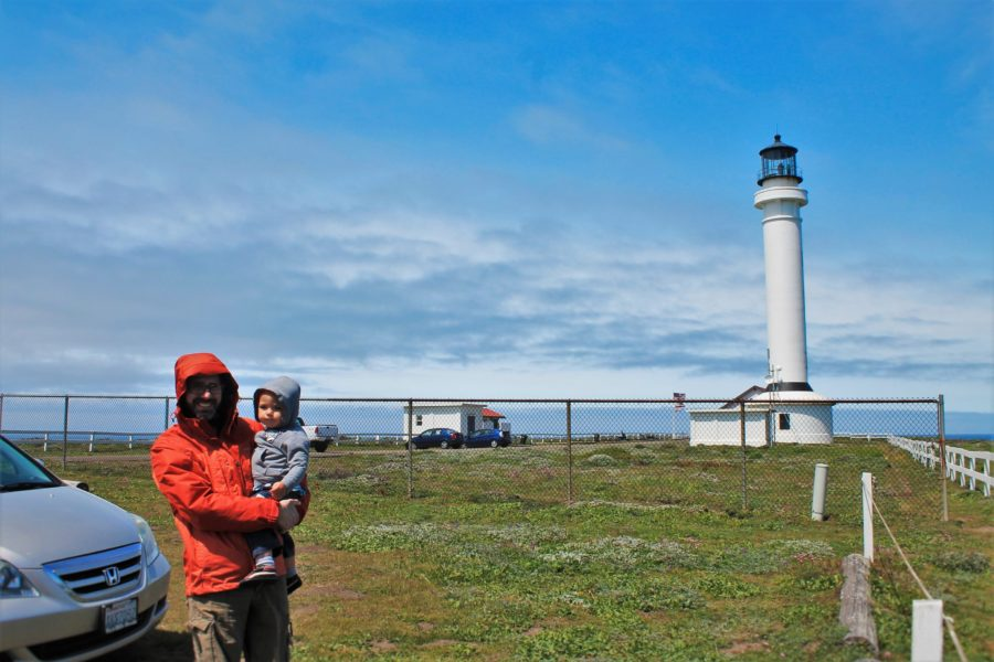 Taylor Family at Point Arena Lighthouse