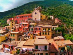 Manarola village Cinque Terre Italy