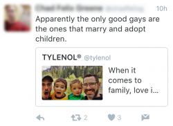 Mean tweet Tylenol HowWeFamily 3