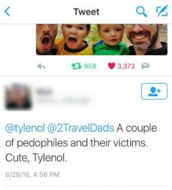 Mean tweet Tylenol HowWeFamily 7
