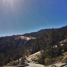 Road to Hetch Hetchy Yosemite National Park