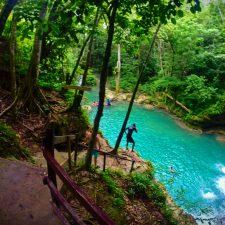 At the Blue Hole St Anns Ocho Rios Jamaica 8