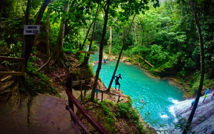 At the Blue Hole St Anns Ocho Rios Jamaica 8