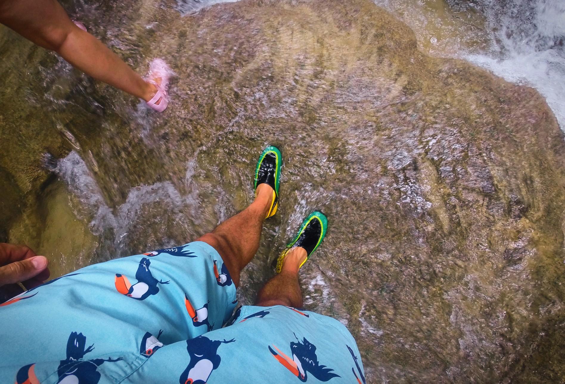At the Blue Hole St Anns Ocho Rios Jamaica