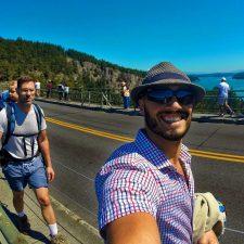 Taylor Family on Deception Pass Bridge