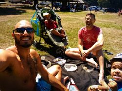 Taylor Family picnic at Washington Park Anacortes