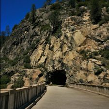Wapama Tunnel at Hetch Hetchy Yosemite National Park 1