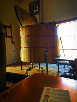 Brewing barrel at Roslyn Brewing Company 1