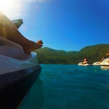Jet skis on wave runner tour Labadee Haiti 1