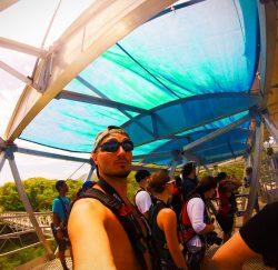Rob Taylor on Worlds Longest Zip Line Labadee Haiti 1