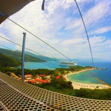 Launch platform for Worlds Longest Zip Line Labadee Haiti 1