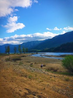 Riverbed at Cle Elum Lake 1