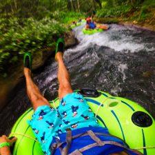 Rob Taylor Floating the White River Ocho Rios Jamaica 1