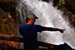 Rob Taylor and TinyMan at Silver Falls Mt Rainier National Park 5