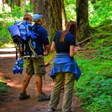 Rob Taylor and friends at Silver Falls Mt Rainier National Park 3