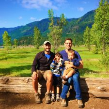 Taylor Family at Cle Elum Lake Roslyn 3