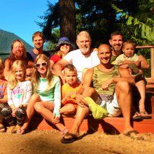 Taylor Family at Lake Cushman family reunion HowWeFamily 1