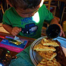 Taylor Kids breakfast at Roslyn Cafe 1