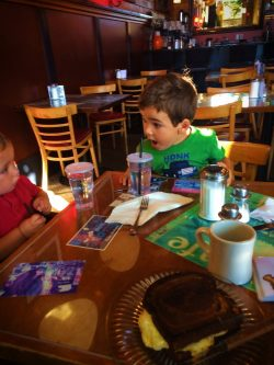 Taylor Kids breakfast at Roslyn Cafe 3