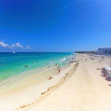 Beach at Playa del Carmen Mexico 1
