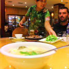 Dining in Xian Shaanxi 1