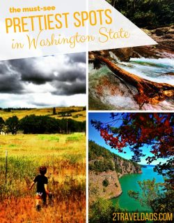 The United States has many beautiful areas, but the prettiest spots in Washginton State dwarf all the rest. See what you can't miss for sights to wow your around the Pacific Northwest. 2traveldads.com