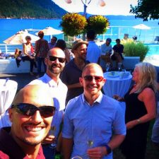 Rob Taylor and friends Pretty Fork Destination Dining Rosario Resort Orcas Island 1