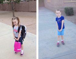Sending kids to school 4