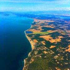 Whidbey Island from Kenmore Air Seaplane flight 1