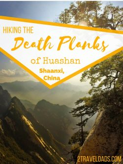 It's known as the most dangerous hike in the world and from the crazy vertical stairs to the death planks at the end, Huashan National Park in Shaanxi province, China is a bucket list item you must cross off. 2traveldads.com