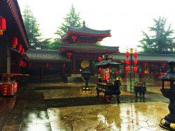 Entrance to Tang Paradise Xian Imperial Garden 2