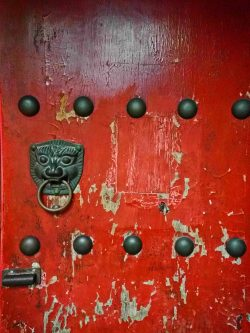 lion-door-knocker-at-buddhist-temple-at-giant-wild-goose-pagoda-4