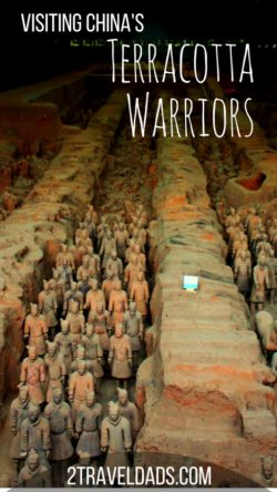 The archaeological dig site of the terracotta warriors is more vast and spectacular than expected. Check out tips and what to expect when visiting Xi'an, China. 2traveldads.com