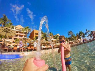 Playing in Pool at Playa Grande Cabo San Lucas