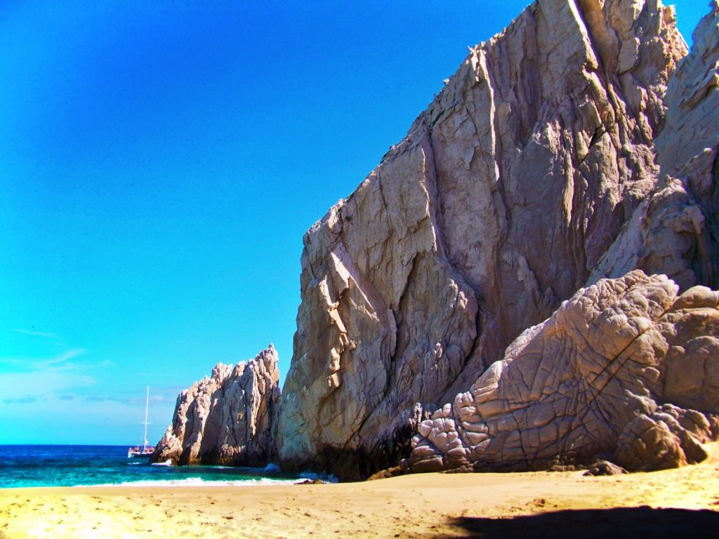 Lovers Beach in Cabo San Lucas