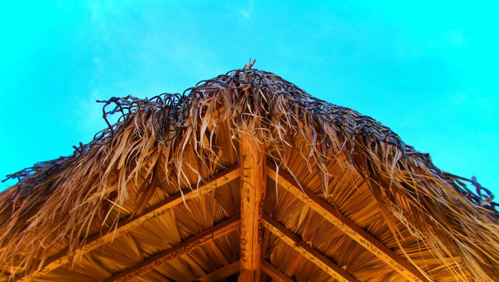 Palapa on beach at East Cape San Jose del Cabo