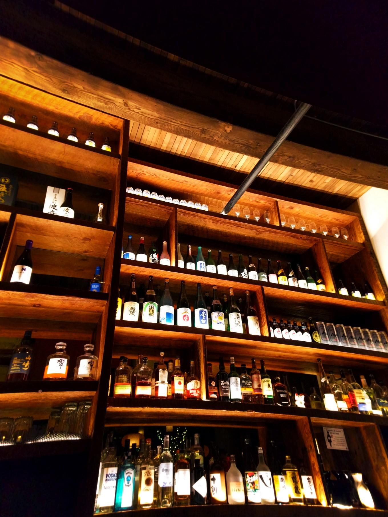 Bar at Bamboo Sushi Portland 2