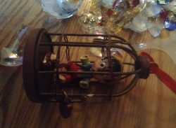 Broken ornaments from Christmas tree 2013