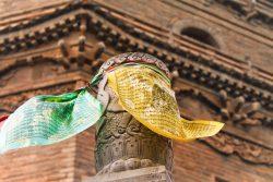 Buddhist Prayer Flags at Famen Temple Baoji 1