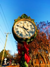 Clock at Civil War and Locomotive Museum Kennesaw 1