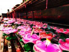 Lotus candles at Heshi Dagoba Famen Temple 2
