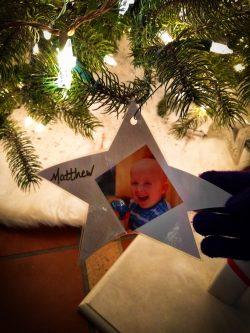 Matthew on Pediatric Brain Tumor Christmas Tree Atlanta Festival of Trees 1