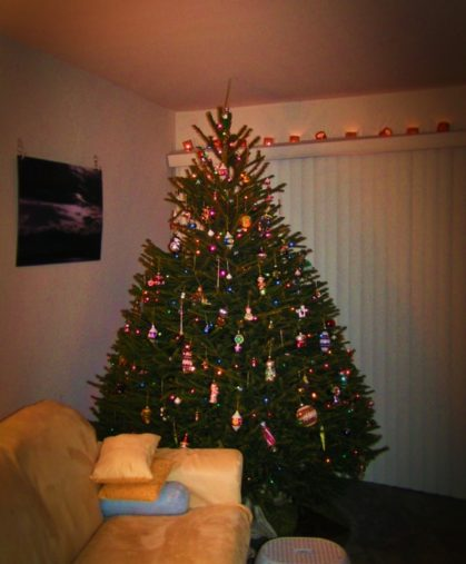 The Tradition Of Christmas Trees: Our Christmas Tree Tradition: From Travel Ornaments To