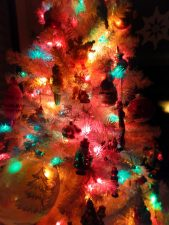 Our family Christmas tree gets more colorful every year.