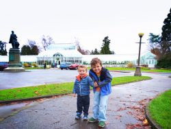 Taylor Kids at Volunteer Park Conservatory Capitol Hill Seattle 1