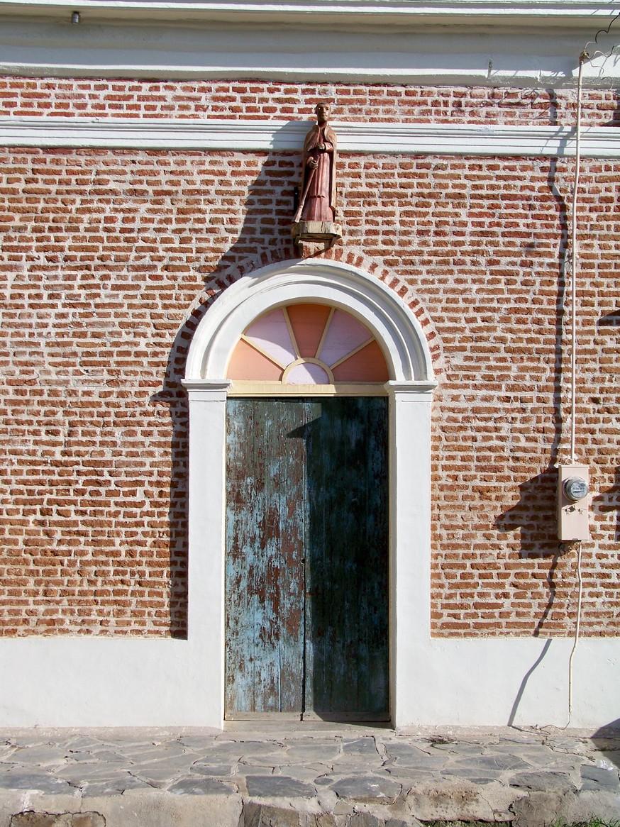 Colorful Brick Doorway in Old Town Todos Santos Baja California Sur 1