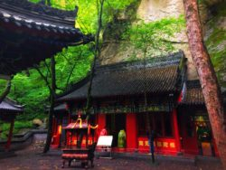 Buddhist Temples at Taibai Mountain National Park 5