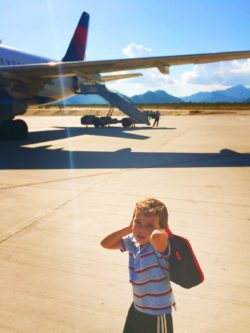 LittleMan on Tarmac in San Jose del Cabo 1