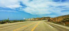 Mexico Highway 1 at Playa Pacific Todos Santos Baja California Sur 1
